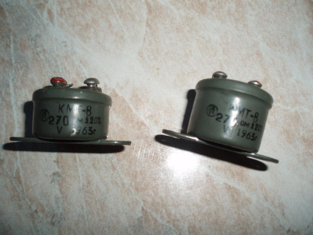 Коллекционерам Внимание!  Новый Советских времён СССР Терморезистор КМТ-8 270 Ом. 1963 год