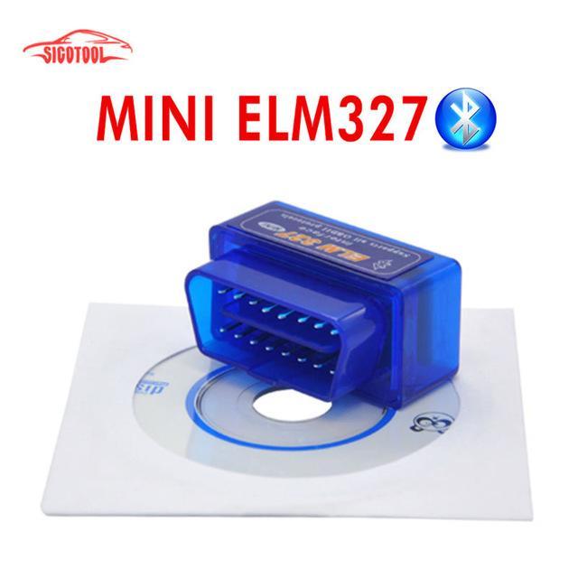 Автомобильный Сканер MINI ELM327 Bluetooth OBD2 V2.1 Android/PC.