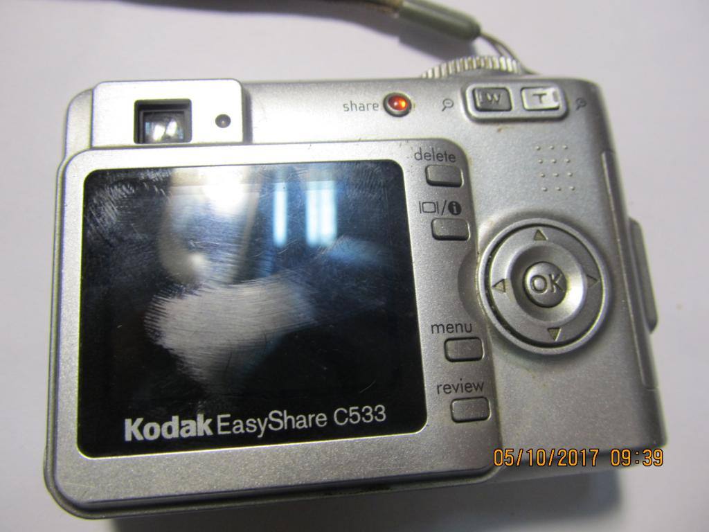 Фотоаппарат Kodak Easy Share C533 (в ремонт, музей)