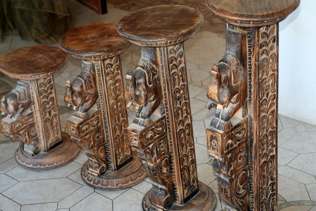Интерьерные колонны/столбики/подставки Индия оригинал 45см,60см,75см,90см