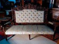 Итальянский диван, барокко, 1850-1870 гг