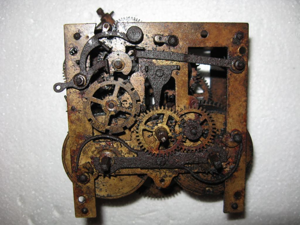 Настенные часы старинные своими руками 76