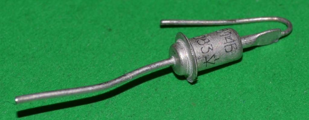 Стабилитрон   Д 814 Б     (Металл)    (Цена за 1 штуку) Лот № Р-347