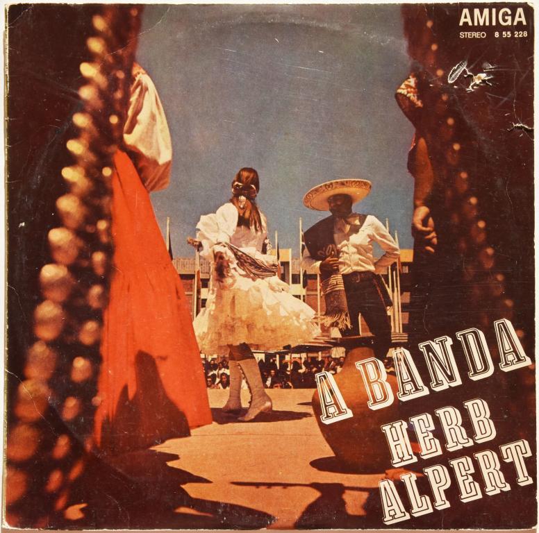 "Herb Alpert ""A Banda"" 1970 Lp  DDR"