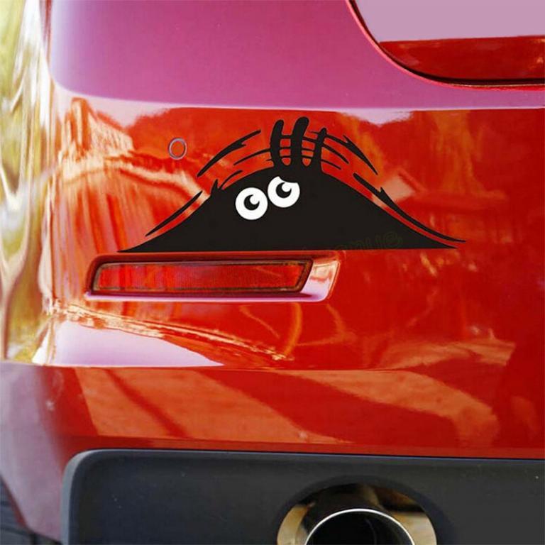 3 D Стикер - Наклейка на Автомобиль *20 х 8*.