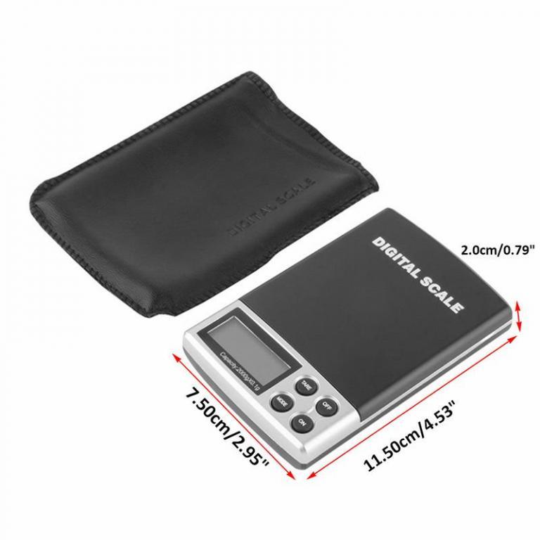 ВЕСЫ Цифровые электронные карманные 2000г х 0.1