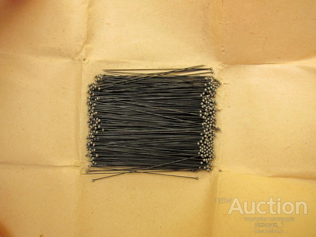 Фунтовые стальные иглы для насекомых Ханса Вагнера 500 шт. №000
