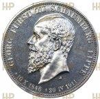 Шаумбург Липпе. 3 марки 1911 года А. В память князя Георга. В слабе ННР PF 63  (PROOF).