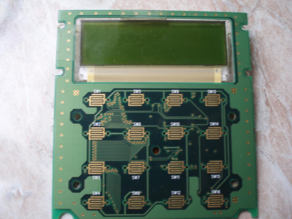 Графический индикатор с контроллером от кассового терминала (Pin-Pad)