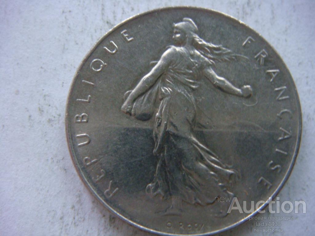 Франция 1 франк 1971 года