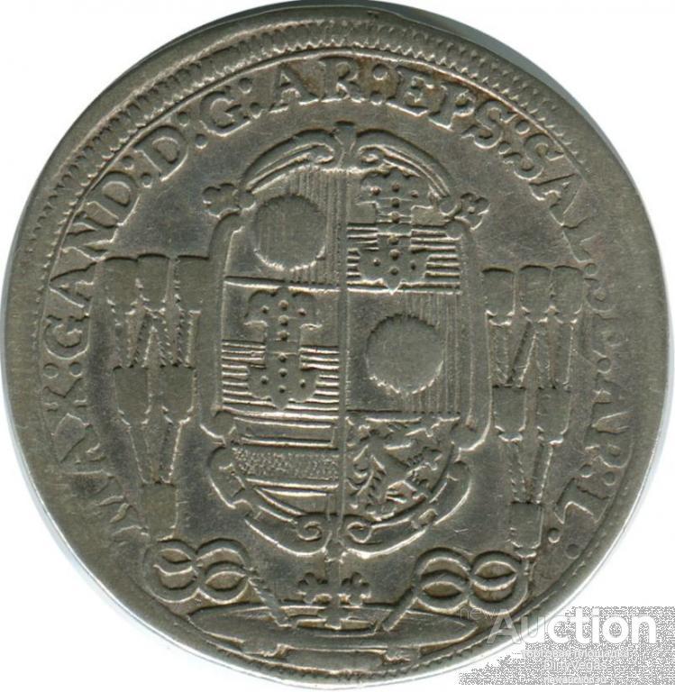 15 крейцеров 1686 Зальцбург
