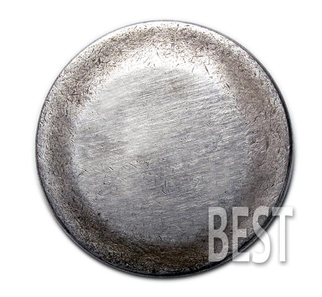 Ирландская монета слиток 9:16 серебро копия