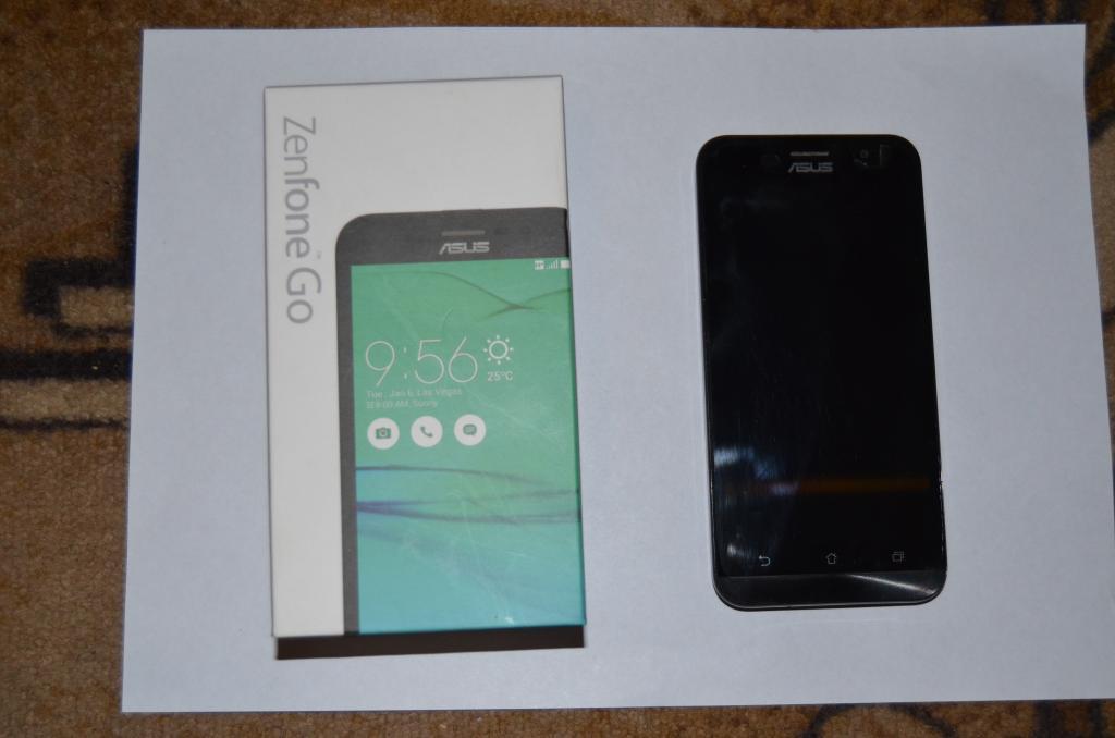 ASUS ZB500KL    13МР, 16GB. 4ядра, 2GB. 1ГГц, 2600мА*ч