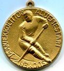 Хоккей медаль чемпионата региона ветеранов SUOMI