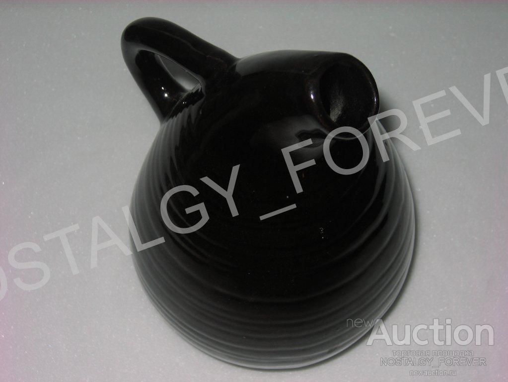 Кувшин старинный керамика СССР на ножках! ваза