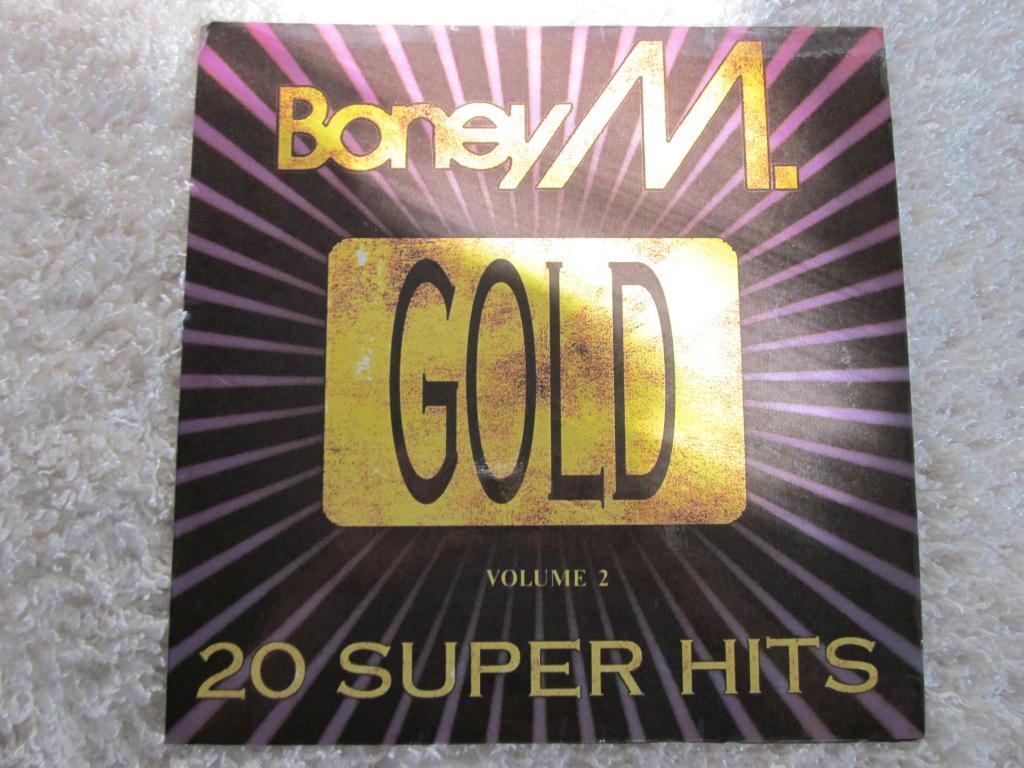 Boney M  – Gold (20 Super Hits)  Volume 2 (Kalimba De Luna, Happy Song)  (Россия)