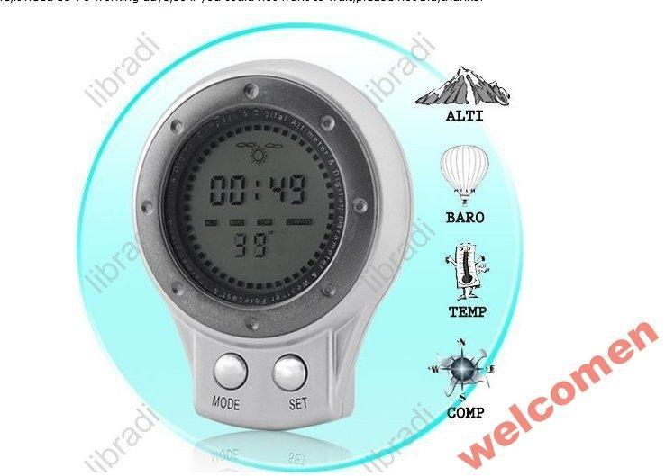 6in1 компас  барометр термометр часы погода