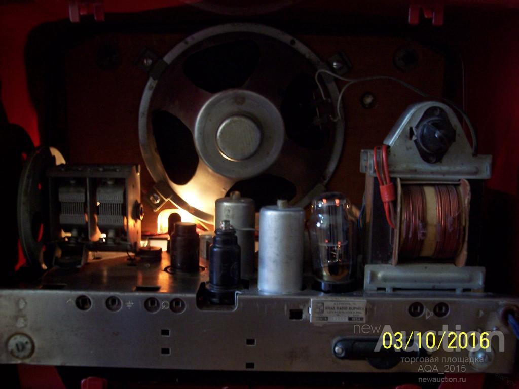РИГА-6, радиоприемник, после полной реставрации, рабочий на всех  диапазонах.