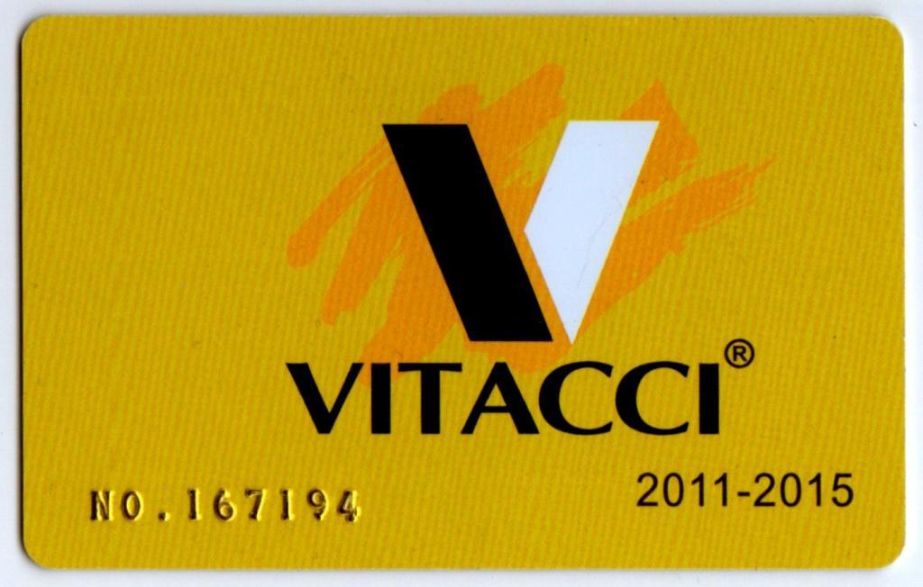 aa035b3b9d5 Карта пластиковая дисконтная VITACCI обувной бренд скидки дисконт бонус  бонусы