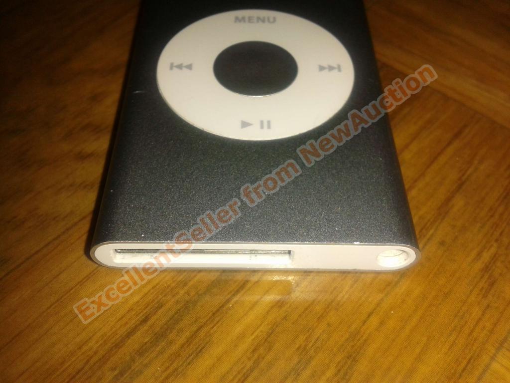 Apple iPod nano 2GB Silver (2nd Gen), идеальное состояние, в оригинальной упаковке, с 1 руб.