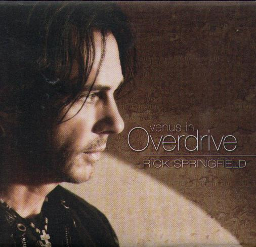 RICK SPRINGFIELD VENUS IN OVERDRIVE Made In USA дигипак