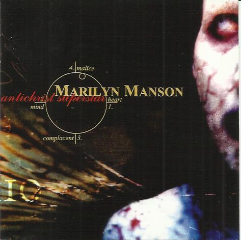 Marilyn Manson Antichrist Superstar буклет