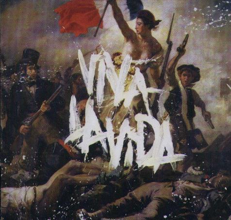 Coldplay Viva la Vida буклет