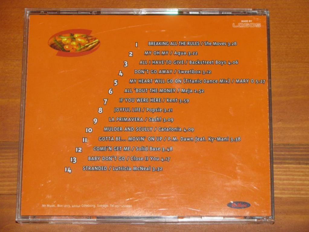 Various - Mr Music Hits 5. 1998 / CD / 1998 / Sweden