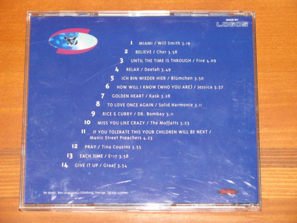 Various - Mr Music Hits 1. 1999 / CD / 1999 / Sweden
