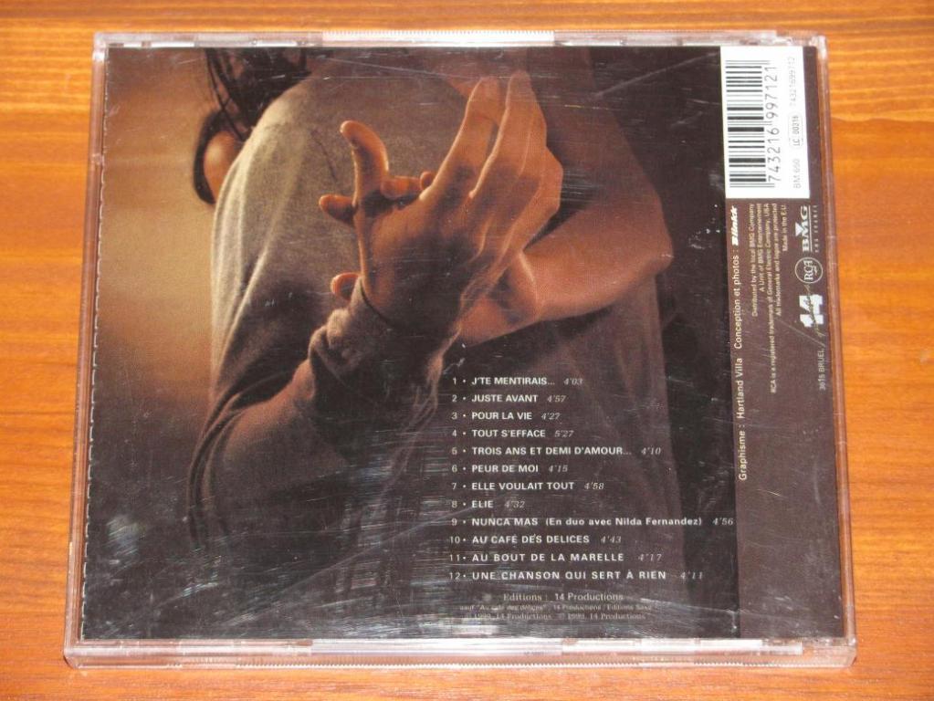 Patrick Bruel - Juste Avant / CD / 1999 / France