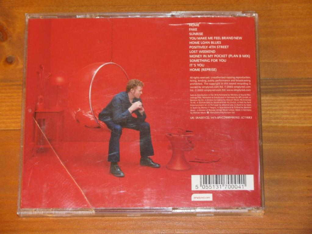 Simply Red - Home / CD / 2003 / Germany