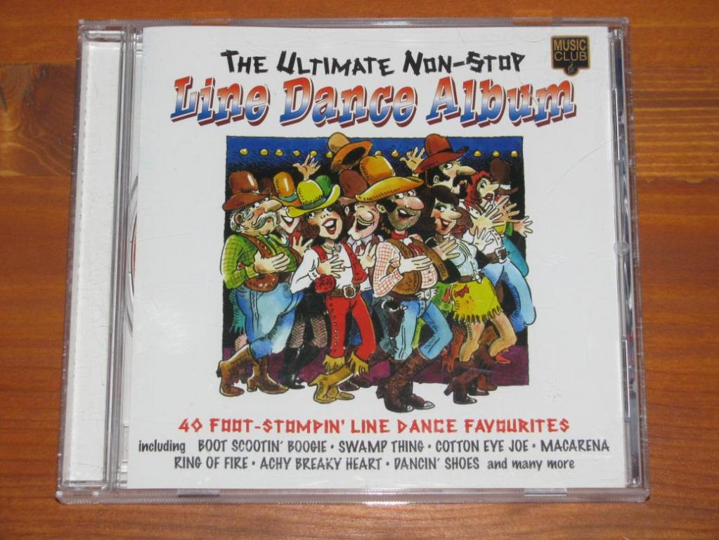 Various - Line Dance Album - The Ultimate Non-Stop / CD / 1998 / UK