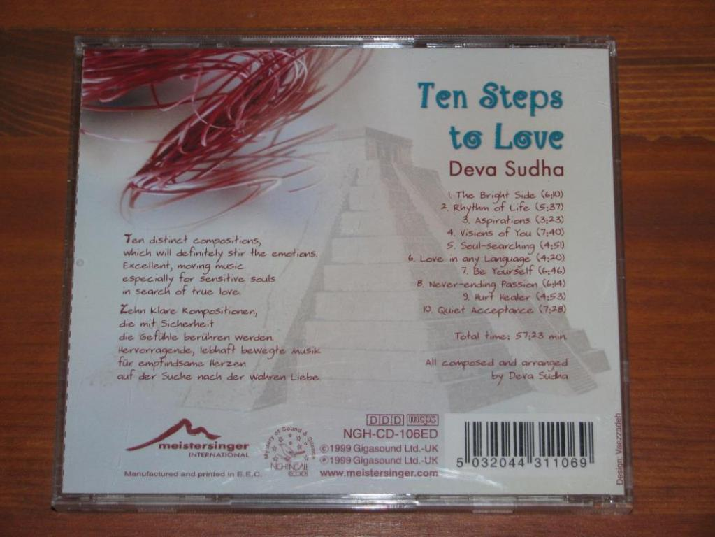 Deva Sudha - Ten Steps To Love / CD / 1999 / Europe