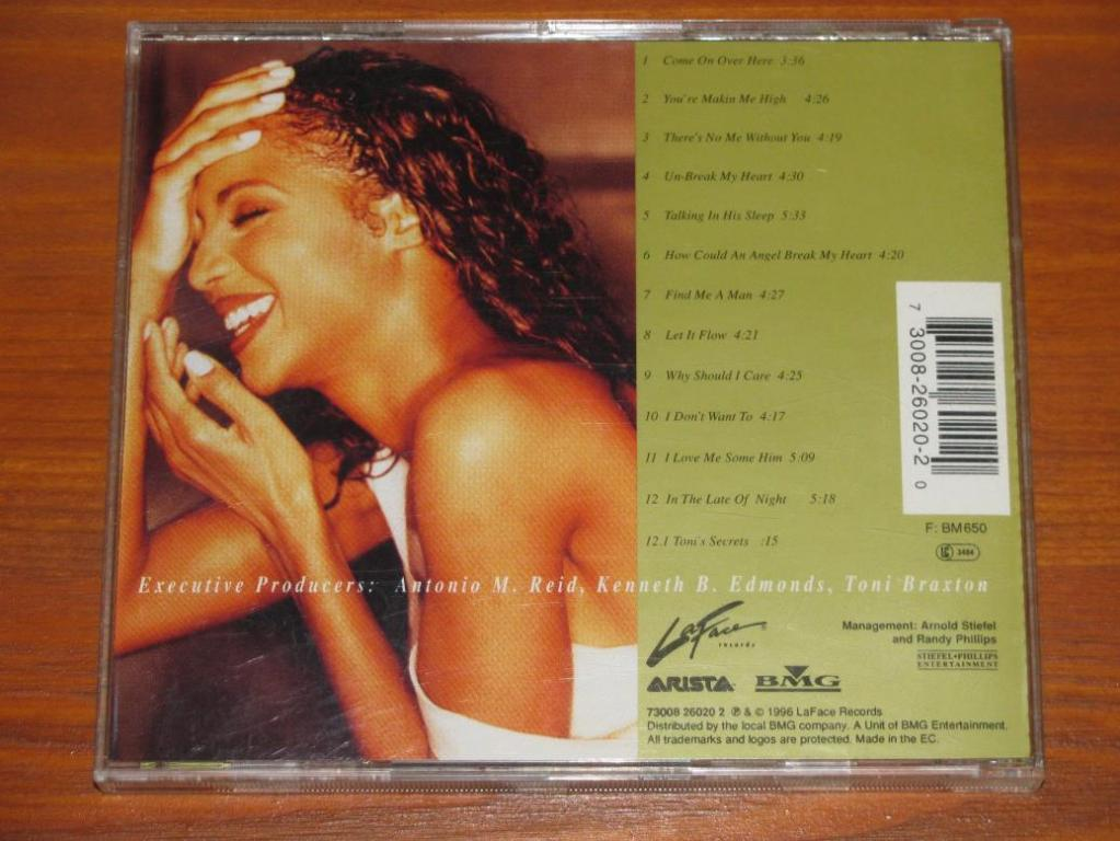 Toni Braxton - Secrets / CD / 1996 / Europe