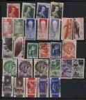 Набор марок СССР тридцатых годов