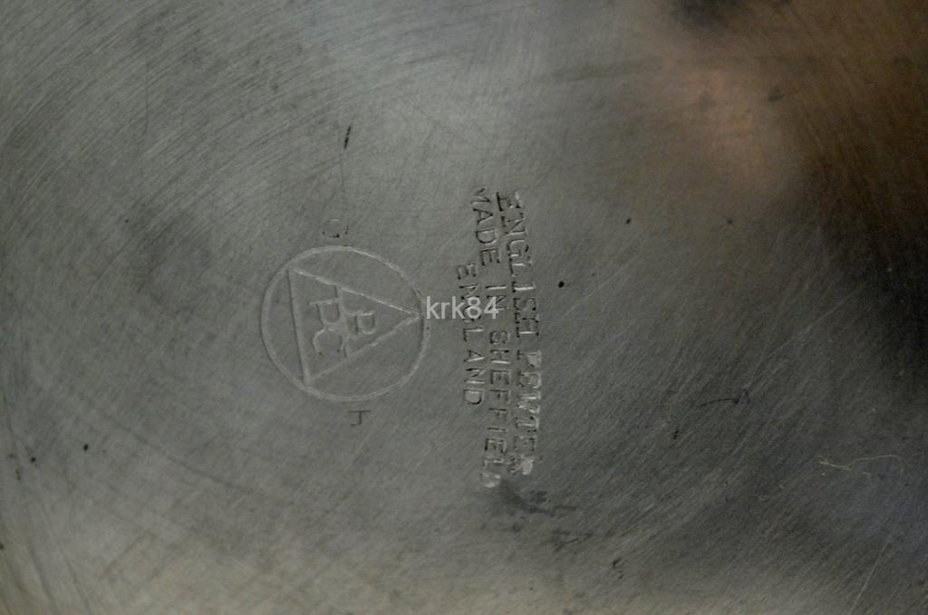 Кружка пивная олово цинк SHEFFIELD  Англия ХХв