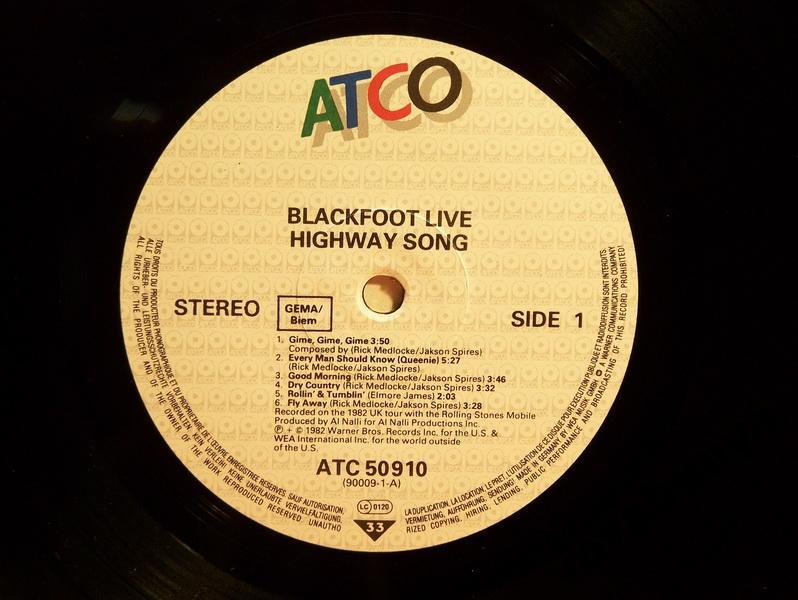 BLACKFOOT *HIGHWAY SONG*
