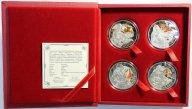 20 рублей 2009 год. Набор из 4-ех монет
