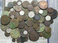 Более 100 монет империи. Медь, серебро. Без повторов! С рубля!