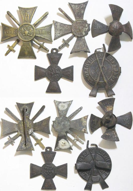 Медали, кресты, знаки. Царизм. Оригиналы! 19 предметов! Низкий старт!