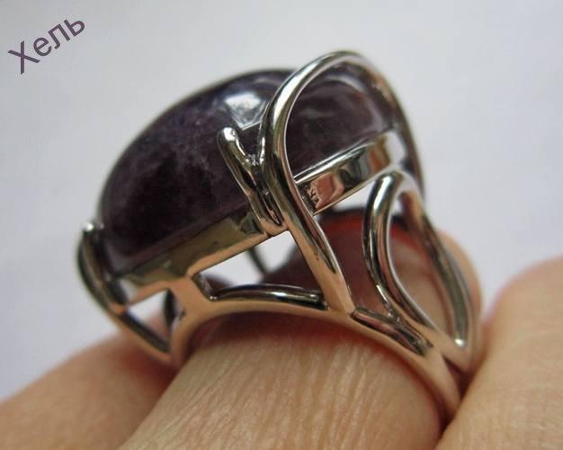 Кольцо перстень АМЕТИСТ СУПЕР 2