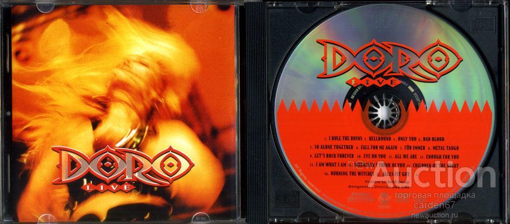 DORO =LIVE= 1993 GERMANY CD