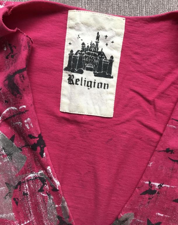 Religion for Disney     ТОП  МАЙКА ФУТБОЛКА  с принтом 46