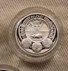 1 фунт Великобритания 2010 Белфаст серебро
