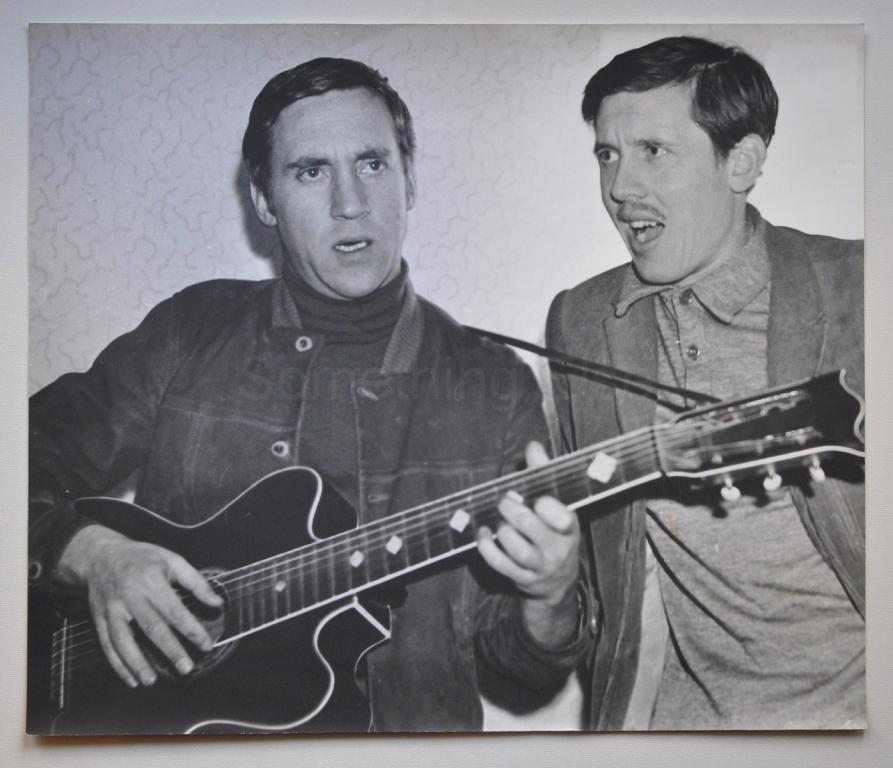 Валерий Золотухин и Владимир Высоцкий