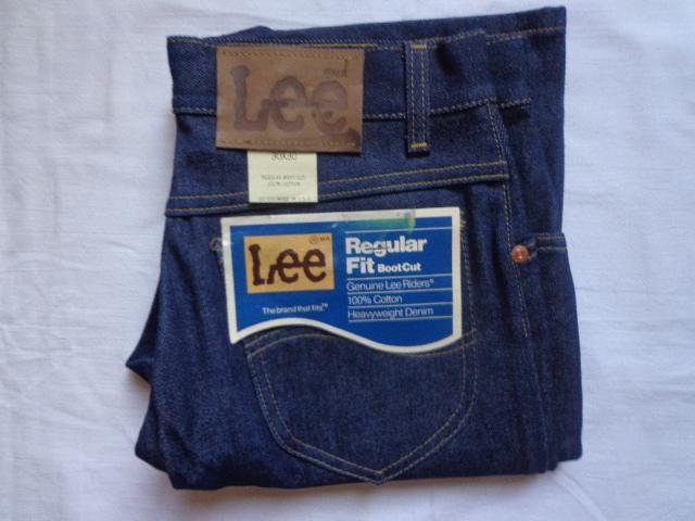 Винтаж 70-е джинсы новые Lee Riders 30Х30 made in USA NEW unisex