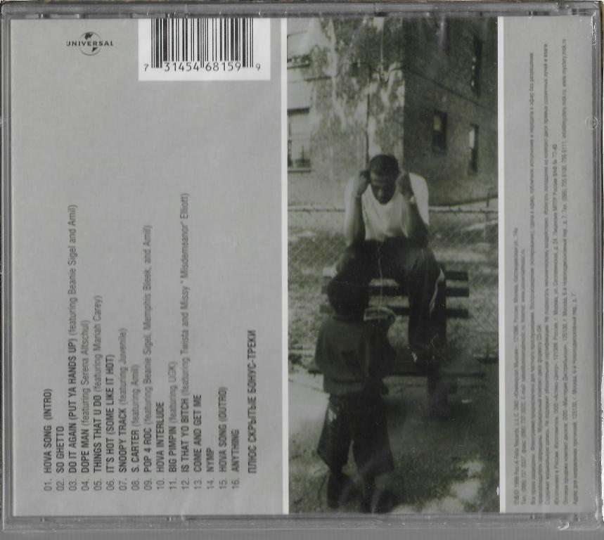 "Jay-Z ""Vol.3..Life And Times Of S. Carter"" 1999 CD SEALED"