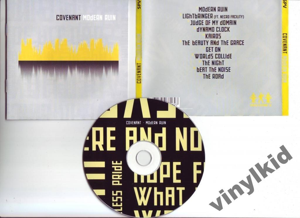CD COVENANT-MODERN RUIN-2011(RU)(SYNTH)16-стр.BOOKLET