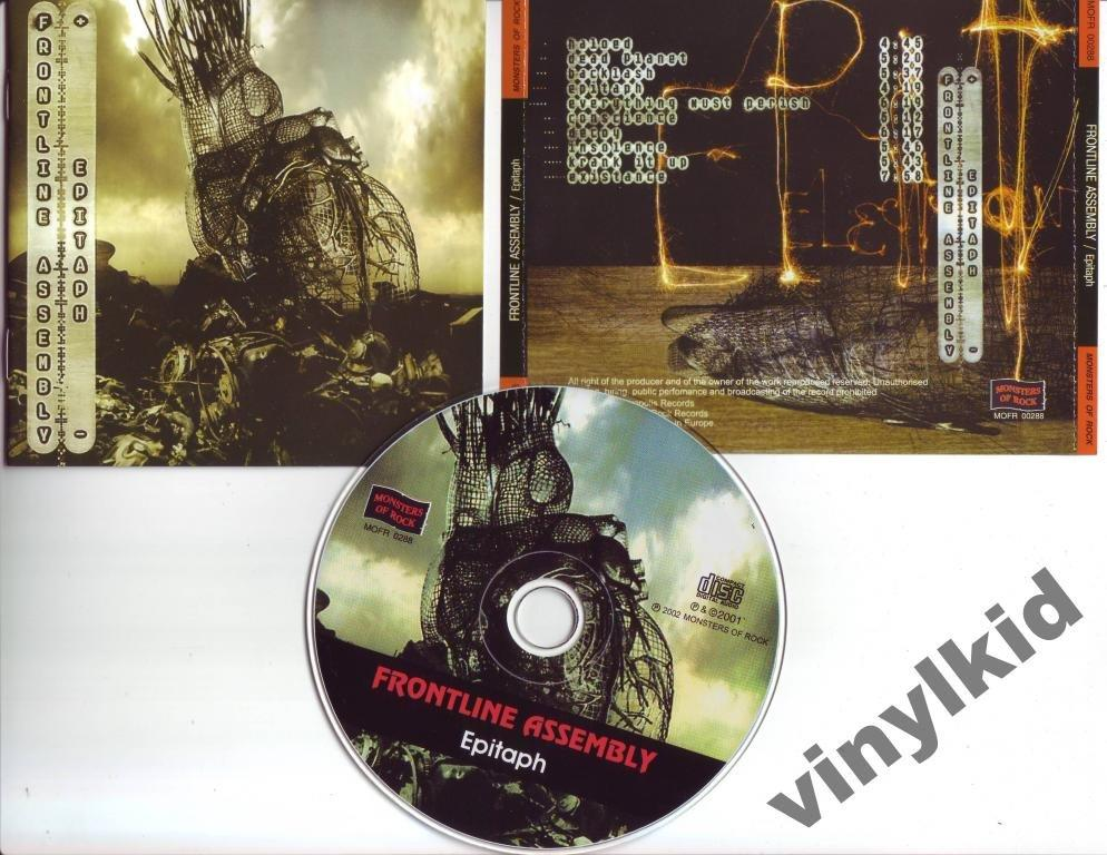 CD FRONTLINE ASSEMBLY-EPITAPH-2002(RU)NEW