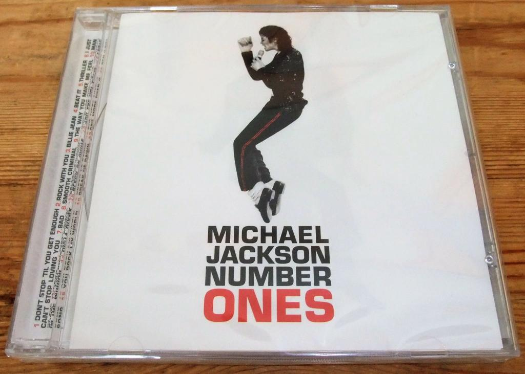 CD MICHAEL JACKSON-NUMBER ONES-2003(ЛИЦ/SONY)ЗАПЕЧАТАН